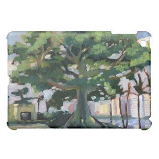 Cubierta del iPad del árbol de Kapok