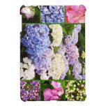 Cubierta del iPad del collage del Hydrangea mini