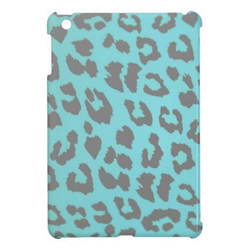 Cubierta del iPad del estampado leopardo iPad Mini Cobertura