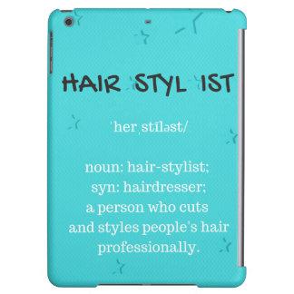Cubierta del iPad del Hairstylist