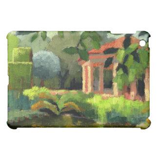 Cubierta del iPad del jardín de la cacerola