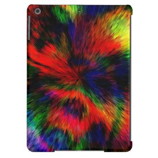 cubierta del iPad del lío del extracto del arco ir Funda Para iPad Air