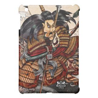 Cubierta del iPad del samurai