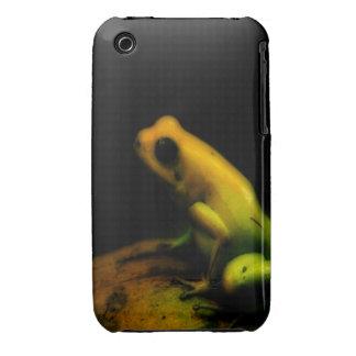 Cubierta del iPhone 3 de la rana iPhone 3 Case-Mate Coberturas