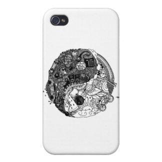 Cubierta del iPhone 4/4S del arte pop de Nancy iPhone 4 Carcasa