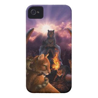 Cubierta del iPhone 4 4s del desafío de Ratha iPhone 4 Case-Mate Carcasa
