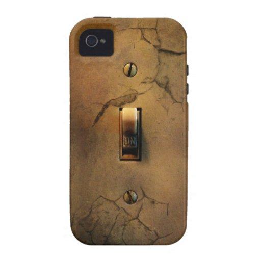 Cubierta del iPhone 4/4S del interruptor del Funda Case-Mate Para iPhone 4