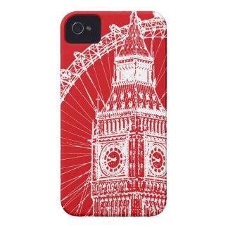cubierta del iPHONE 4/4S Londres iPhone 4 Funda