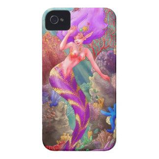 Cubierta del iPhone 4 de la alegría de la sirena iPhone 4 Carcasa