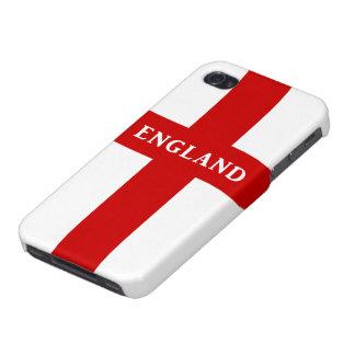 Cubierta del iPhone 4 de la bandera de Inglaterra iPhone 4 Carcasas