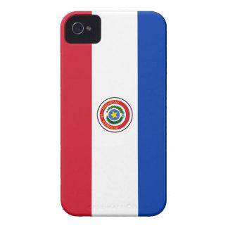 Cubierta del iPhone 4 de la bandera de Paraguay Case-Mate iPhone 4 Coberturas