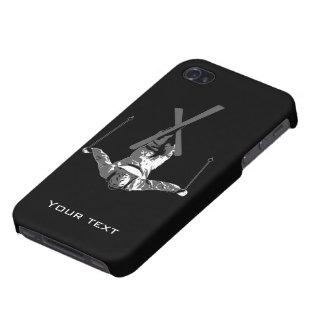 Cubierta del iPhone 4 del esquí del estilo libre iPhone 4/4S Fundas