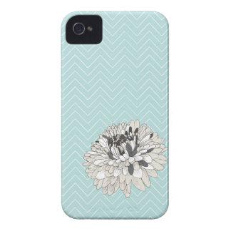 Cubierta del iPhone 4 del modelo del crisantemo de Case-Mate iPhone 4 Fundas