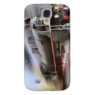 Cubierta del iPhone 4 del tren que apresura Funda Para Galaxy S4