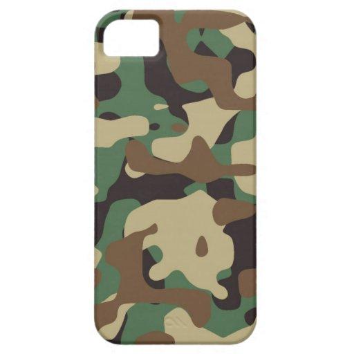 Cubierta del iPhone 5/5S de Camo del modelo del ar iPhone 5 Case-Mate Protector