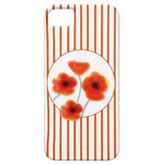 Cubierta del iPhone 5/5S de las amapolas Funda Para iPhone SE/5/5s