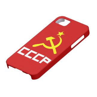 Cubierta del iPhone 5 de CCCP iPhone 5 Funda