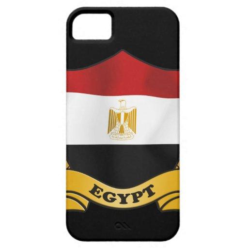 Cubierta del iPhone 5 de la bandera de Egipto iPhone 5 Protector