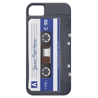 Cubierta del iPhone 5 de la cinta de casete iPhone 5 Protector