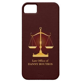Cubierta del iPhone 5 de la escala de la ley iPhone 5 Fundas