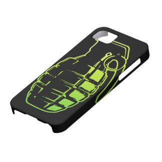 Cubierta del iPhone 5 de la granada de mano Funda Para iPhone 5 Barely There