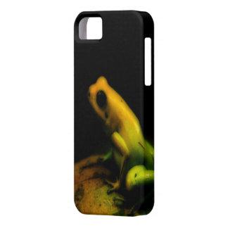 Cubierta del iPhone 5 de la rana iPhone 5 Case-Mate Cárcasas