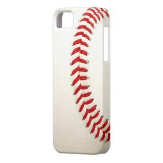 Cubierta del iPhone 5 de la textura del béisbol iPhone 5 Carcasas