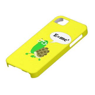 Cubierta del iPhone 5 de la tortuga del friki Funda Para iPhone SE/5/5s