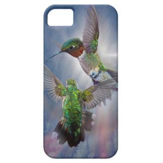 Cubierta del iPhone 5 de los colibríes del baile iPhone 5 Carcasa