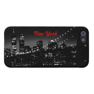 Cubierta del iPhone 5 de New York City iPhone 5 Funda