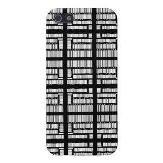 Cubierta del iPhone 5 del código de barras iPhone 5 Funda
