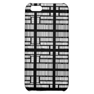 Cubierta del iPhone 5 del código de barras