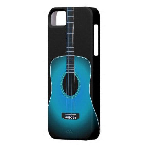 Cubierta del iPhone 5 del fondo de la guitarra iPhone 5 Funda