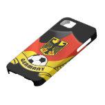 Cubierta del iPhone 5 del fútbol de Alemania