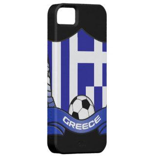 Cubierta del iPhone 5 del fútbol de Grecia iPhone 5 Fundas