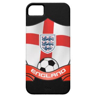 Cubierta del iPhone 5 del fútbol de Inglaterra iPhone 5 Coberturas