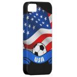 Cubierta del iPhone 5 del fútbol de los E.E.U.U.