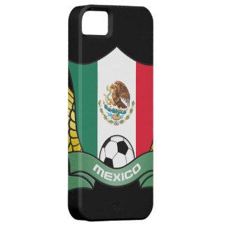Cubierta del iPhone 5 del fútbol de México iPhone 5 Fundas