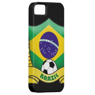 Cubierta del iPhone 5 del fútbol del Brasil Funda Para iPhone SE/5/5s