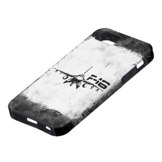Cubierta del iPhone 5 del halcón que lucha F-16 iPhone 5 Carcasa
