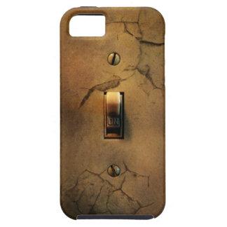 Cubierta del iPhone 5 del interruptor del Grunge iPhone 5 Case-Mate Fundas