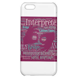 cubierta del iPhone 5 - intérprete