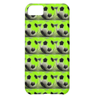 Cubierta del iPhone 5C de los balones de fútbol Funda Para iPhone 5C