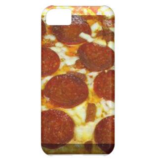 Cubierta del iphone cinco de la pizza de salchicho funda para iPhone 5C