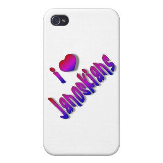 Cubierta del iphone de Janoskians iPhone 4 Carcasa