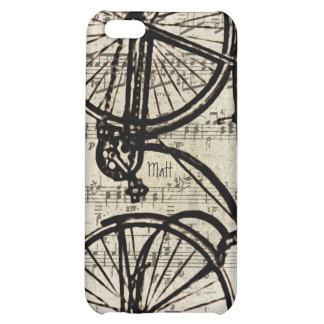 Cubierta del iPhone de la bicicleta del vintage