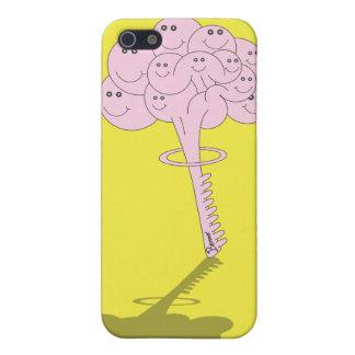 Cubierta del iPhone de la bomba del cerebro iPhone 5 Fundas