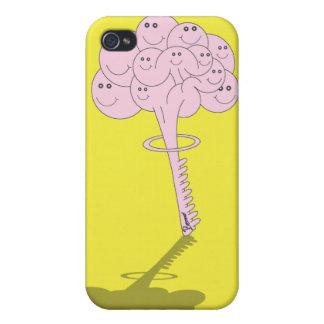 Cubierta del iPhone de la bomba del cerebro iPhone 4/4S Fundas