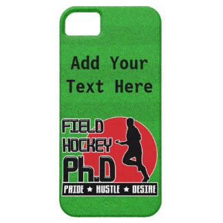 Cubierta del iPhone de la cita del Ph.D del hockey iPhone 5 Fundas