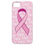 Cubierta del iPhone de la conciencia del cáncer de iPhone 5 Case-Mate Coberturas
